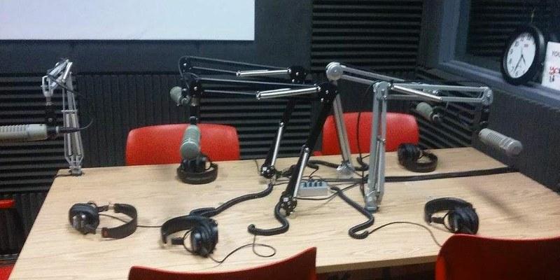 Inside YCRadio Studios
