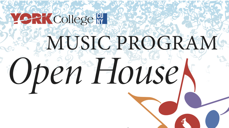 The York College Music Program presents our first-ever Open House, featuring performances by Queens-area high school students, York College student and alumni.